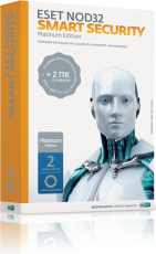 Антивирус Eset NOD32 Smart Security Platinum Edition 2 года на 3 ПК