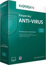 Антивирус Kaspersky Anti-Virus 20152 ПК 1year Box KL1161RBBFS