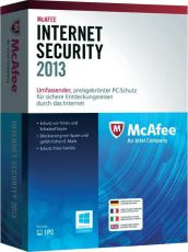 Антивирус McAfee Internet Security 2013 на 3 ПК